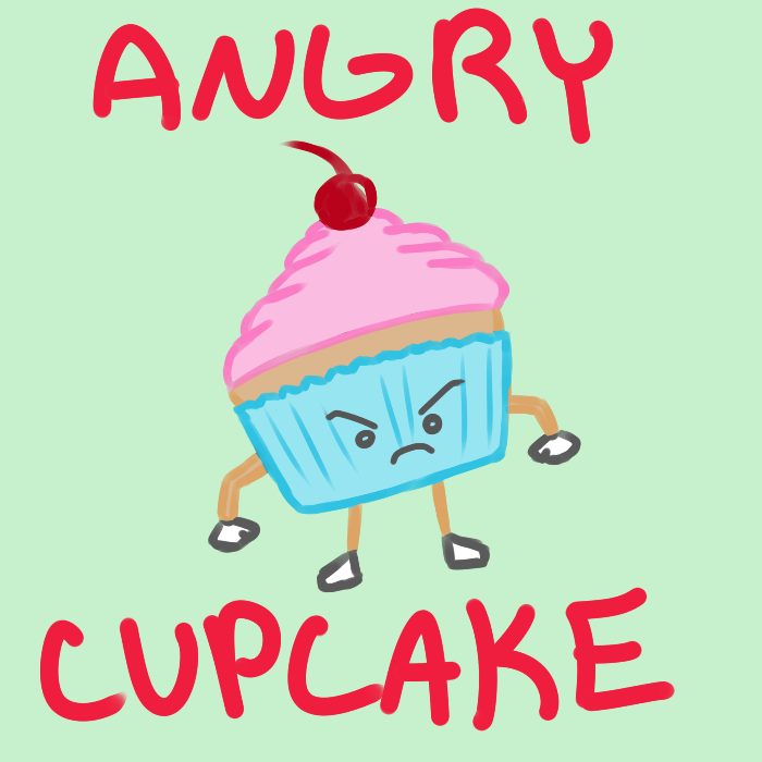 By babydollandcupcake on deviantart. Angry clipart cupcake