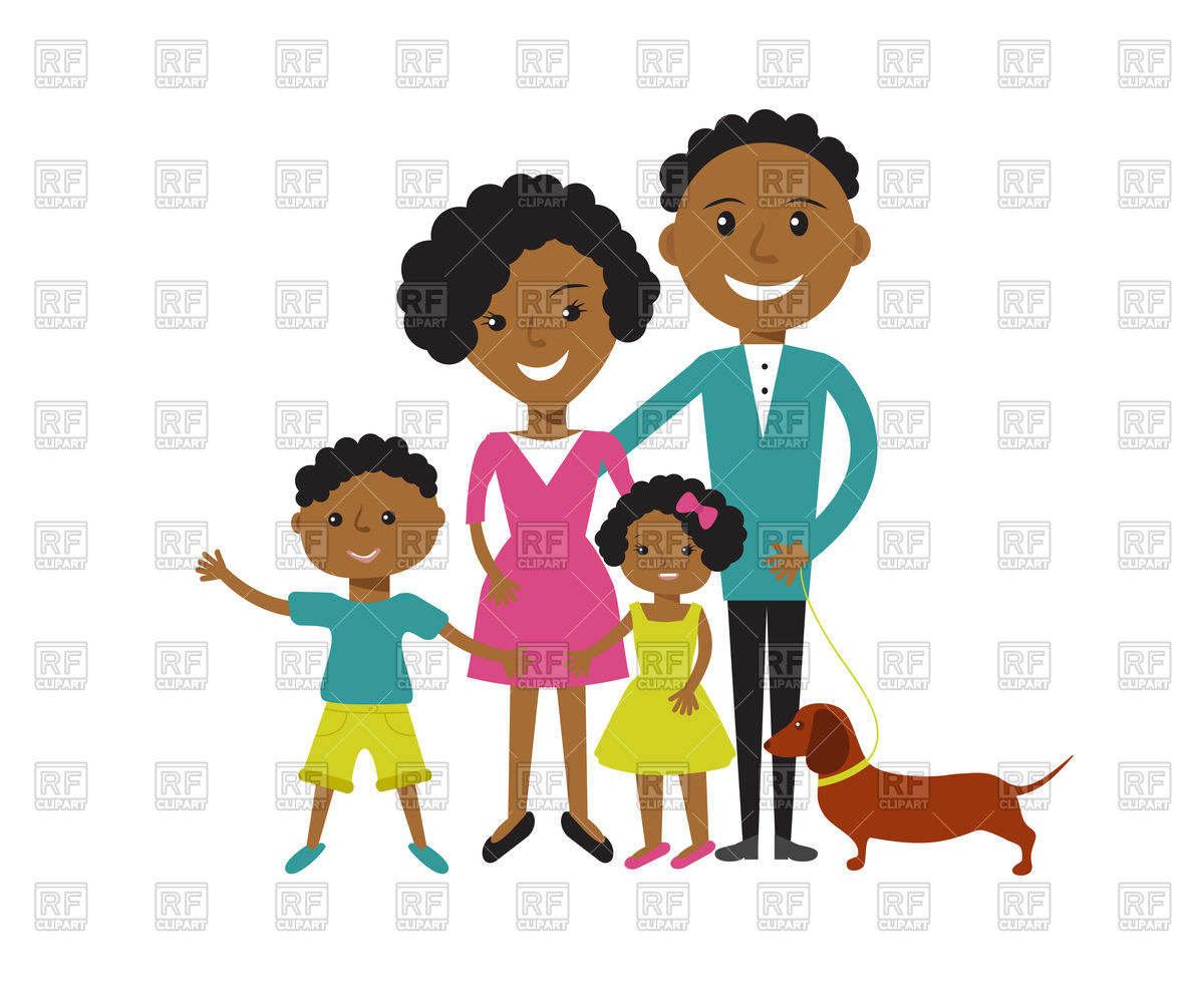 Mother free download best. Families clipart african american