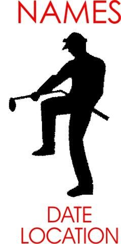 Golf clipart angry. Golfer clip art silhouette