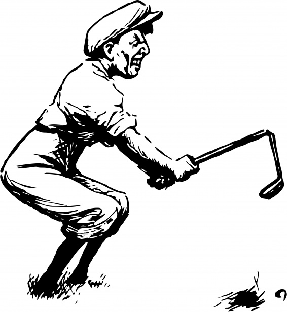 Man free stock photo. Golf clipart angry