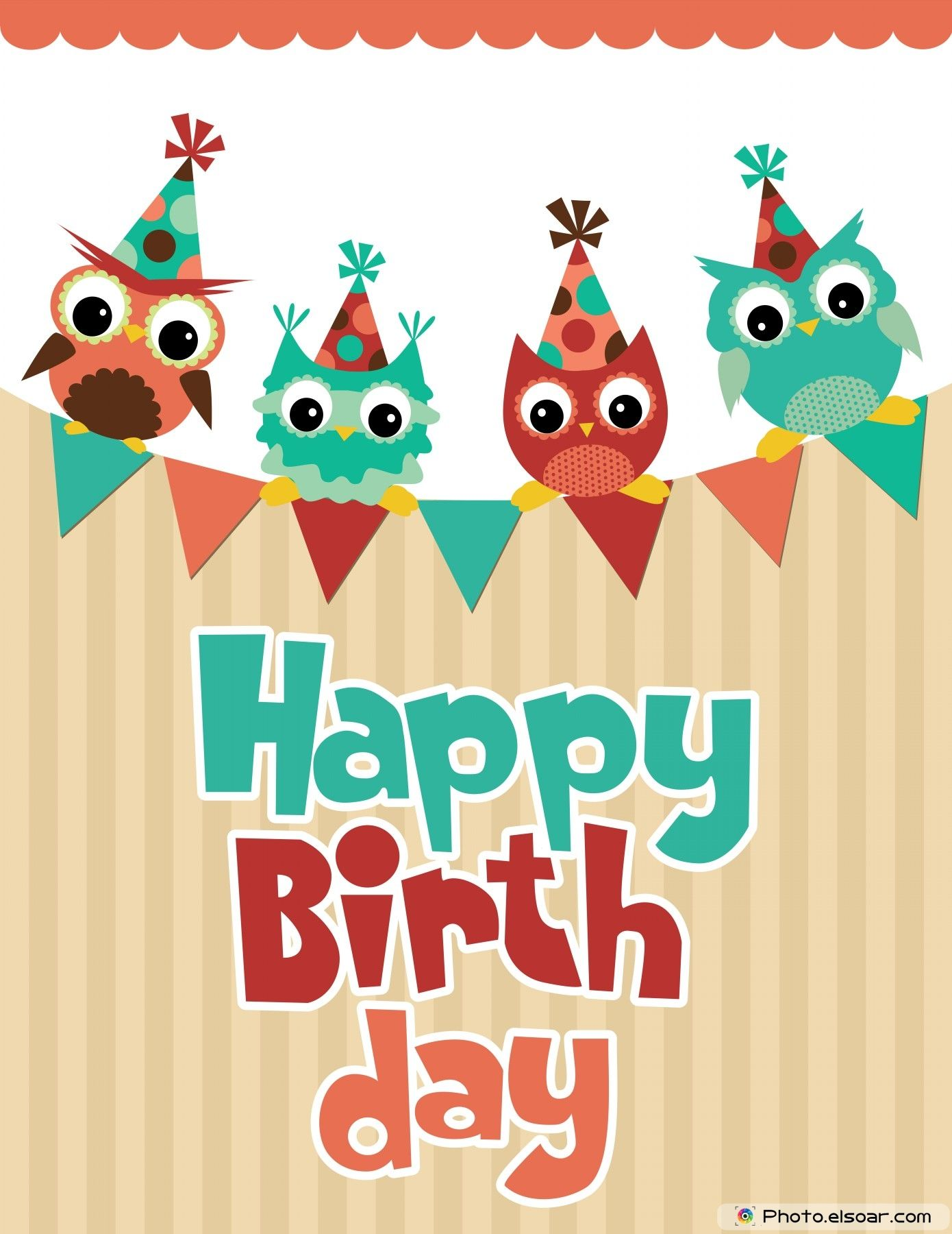 Birthday card design with. Angry clipart happy