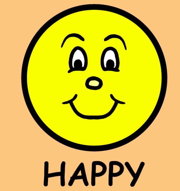 Happiness is day with. Angry clipart happy