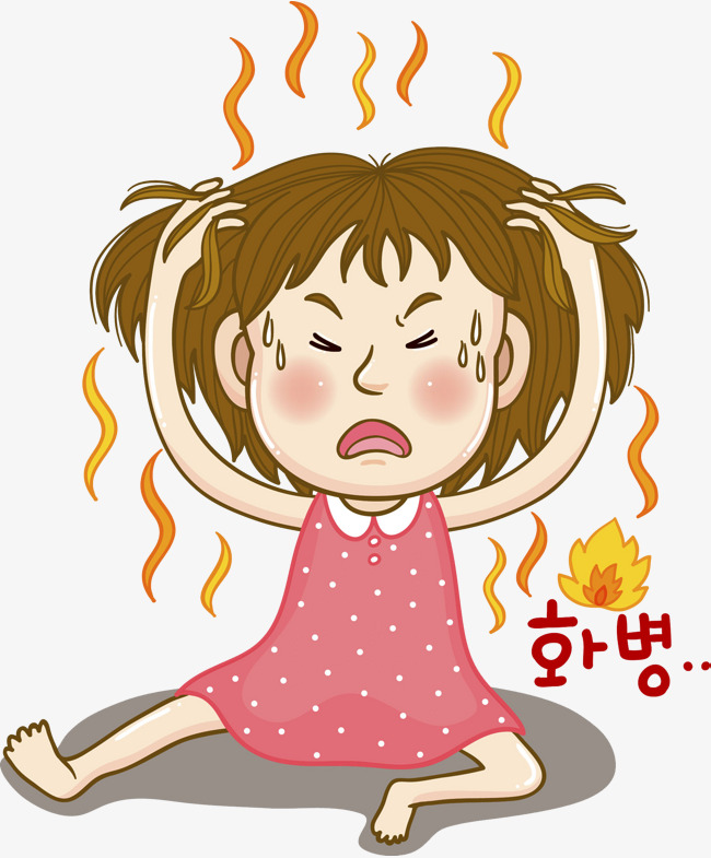 Girl red lit png. Angry clipart irate