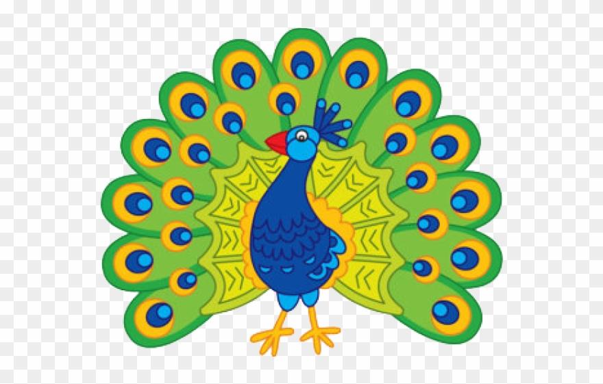 Peacock clipart peacock bird. Art competition cartoon image