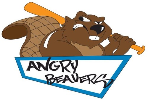 Beavers tailsupbeavs twitter. Angry clipart softball
