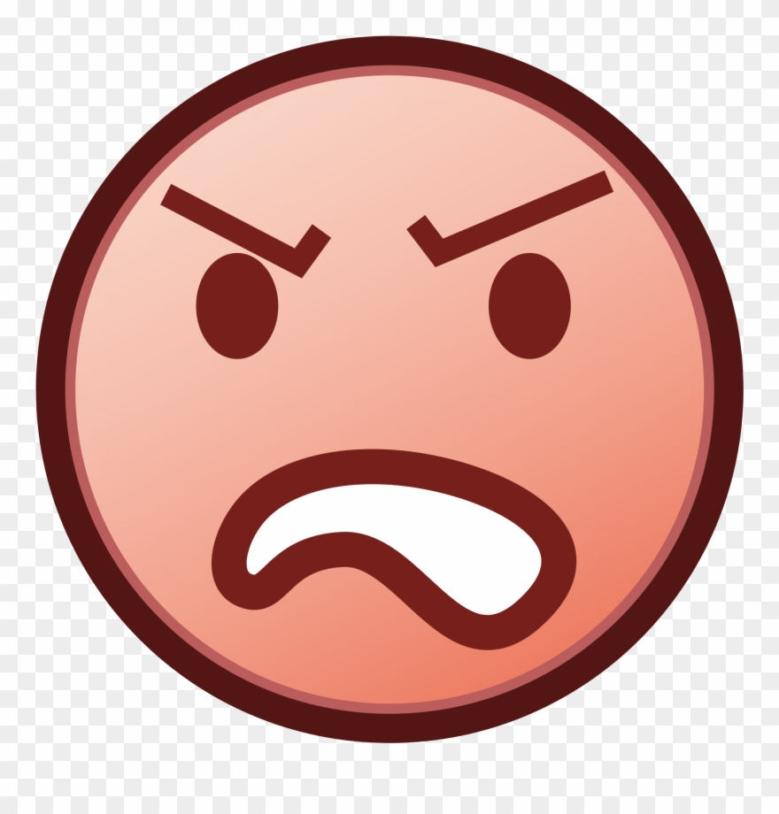 Angry clipart transparent. Emoji background free png