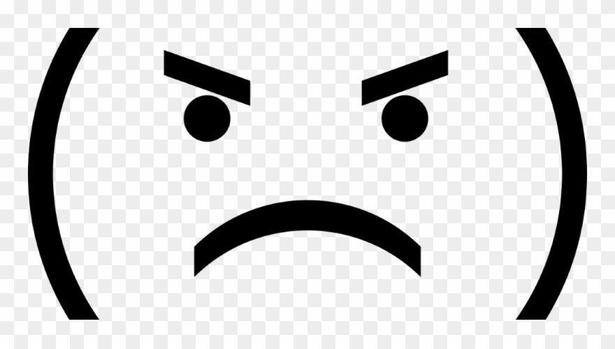 Face png download . Angry clipart transparent