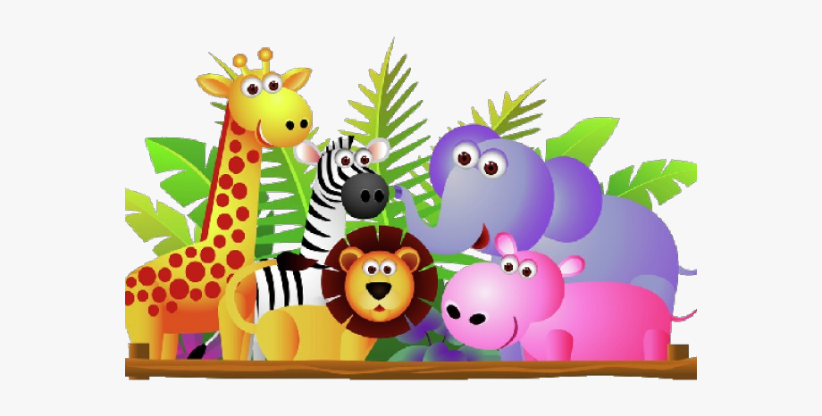 Clip art stock zoo. Animal clipart