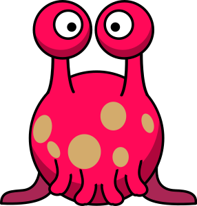 Animals clipart alien. Silly in the style