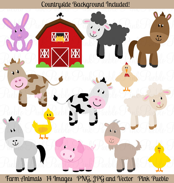 Farm clip art like. Animals clipart barnyard
