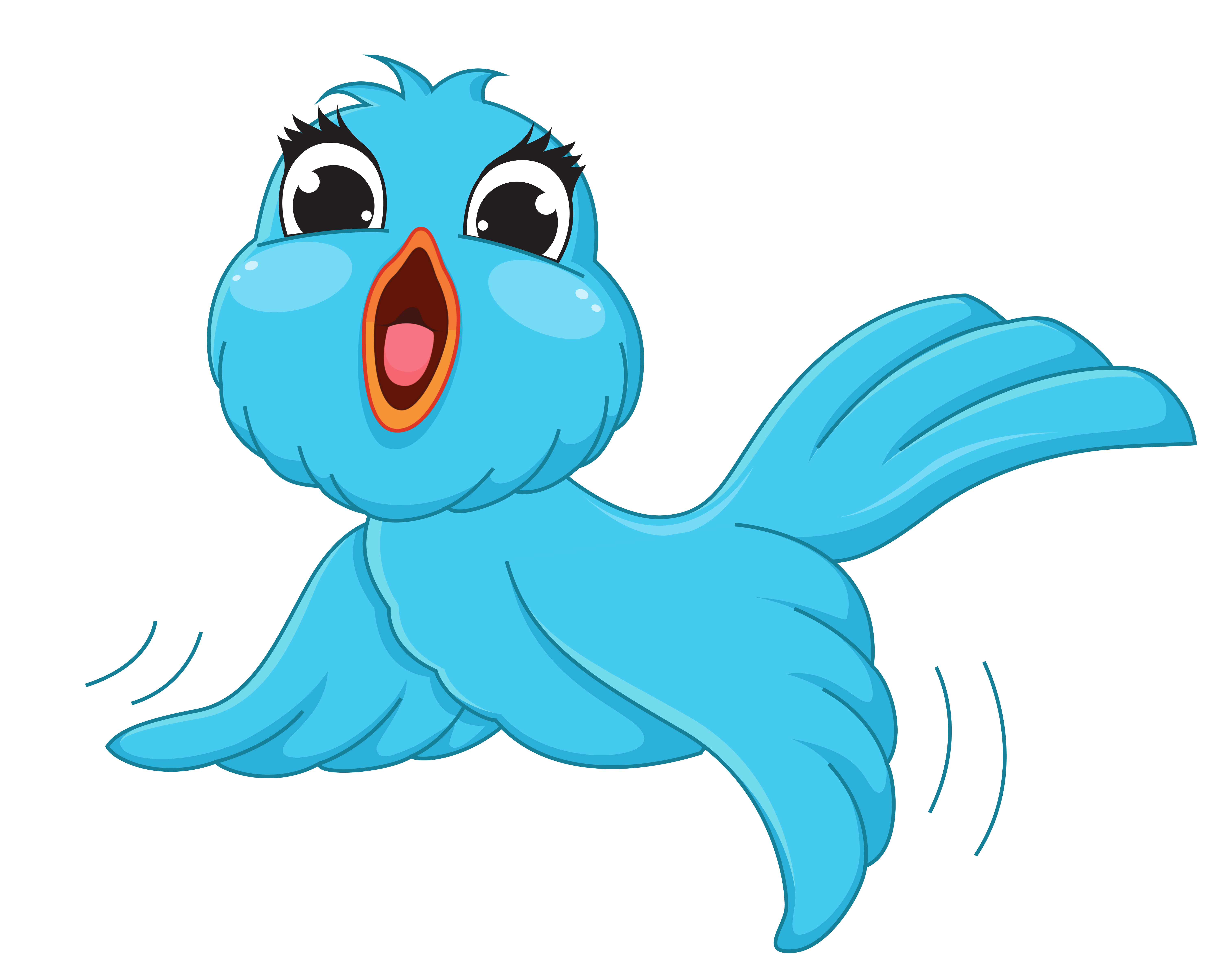 Birds clipart transparent background. Blue bird png cartoon