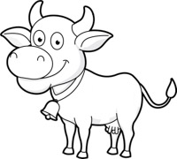 Free outline clip art. Animals clipart black and white