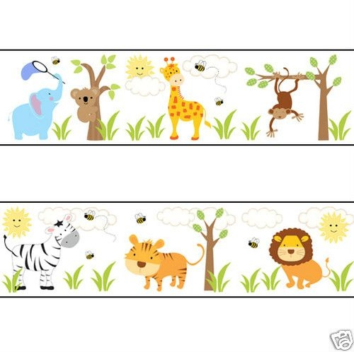 Free wildlife border cliparts. Animals clipart borders