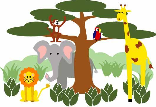 best education theme. Animals clipart borderline