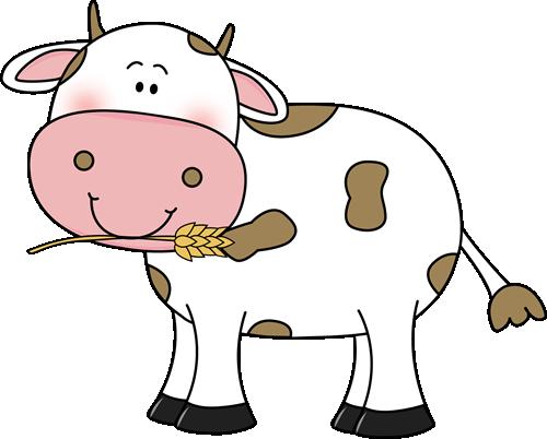 Cow clip art images. Cattle clipart cute