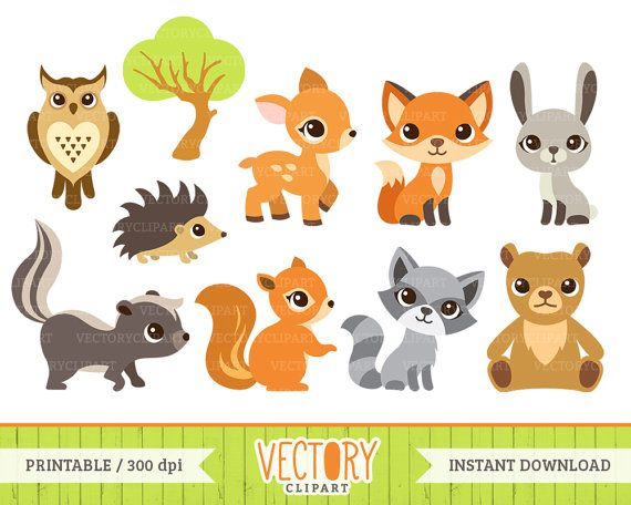 Animals clipart deer.  woodland animal forest