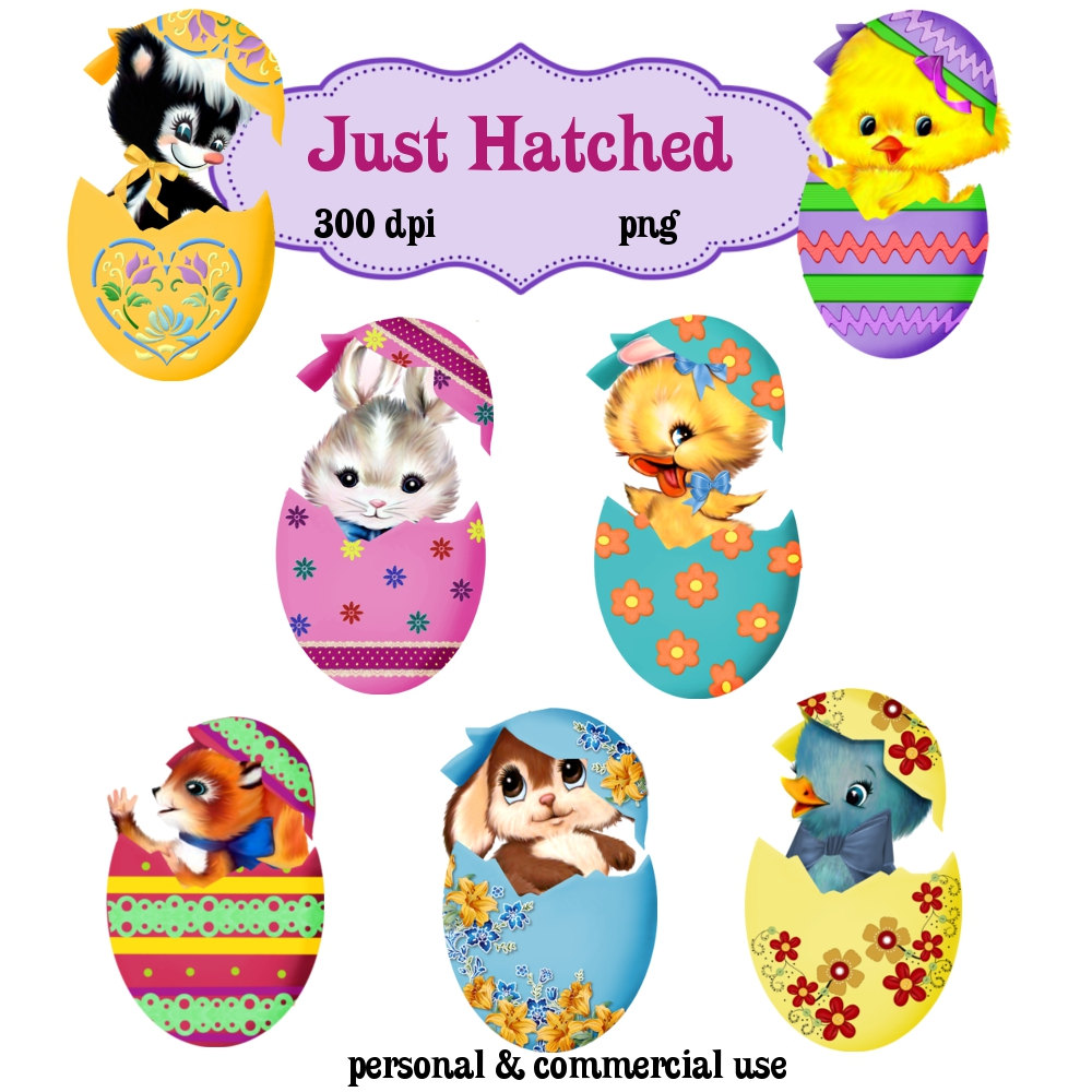 animals clipart easter #21114687