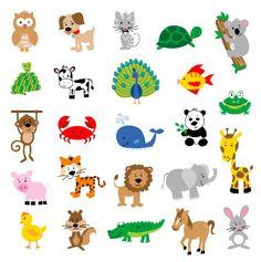 Animal clipart easy.  best cute clip