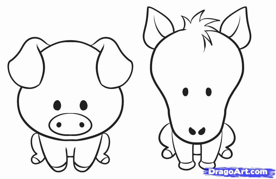 collection of to. Animals clipart easy