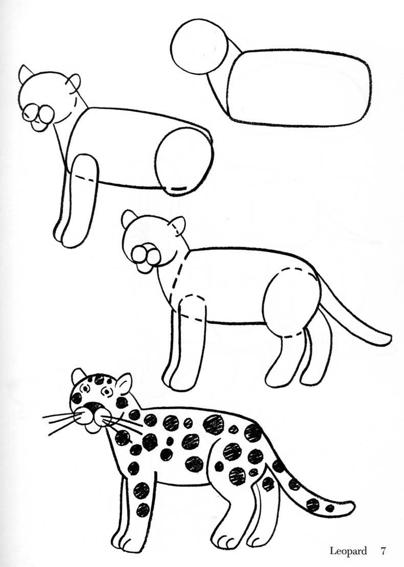 Free clip arts how. Animal clipart easy