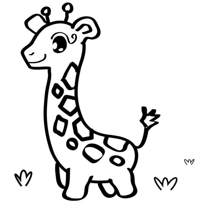 Free cute drawings download. Animal clipart easy