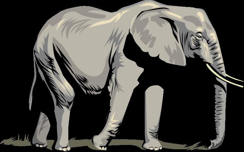 Clip art royalty free. Animals clipart elephant