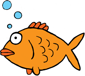 A perfect world clip. Animals clipart fish
