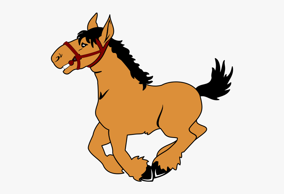 Cartoon png free cliparts. Animals clipart horse