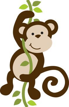 Pin by sandy hearn. Animals clipart monkey