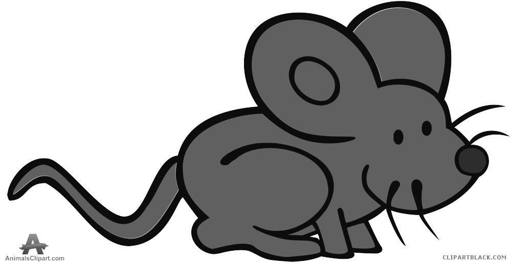 Grayscale clipartblack com animal. Animals clipart mouse