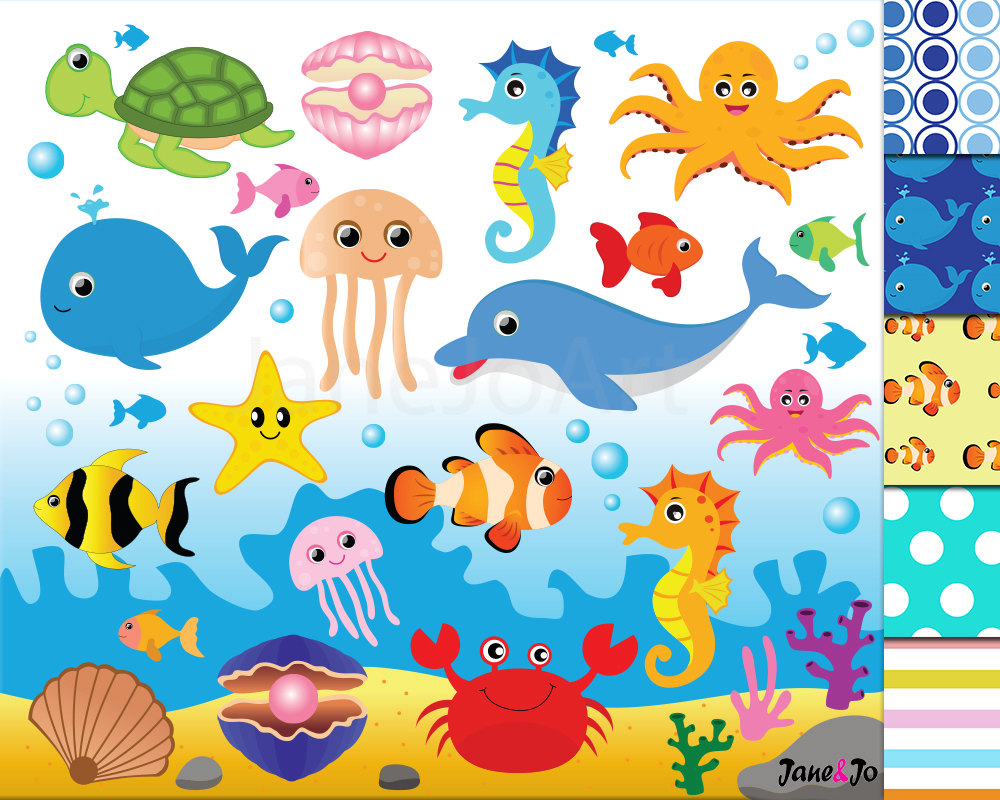Animals clipart sea.  offsale animal clipartsea