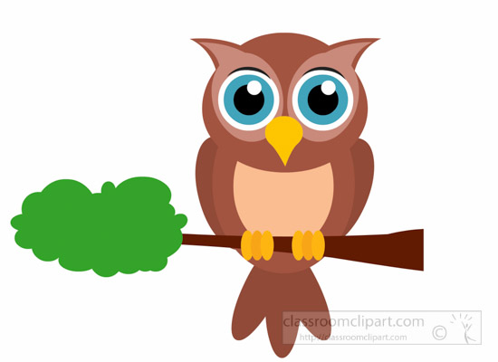 Animals clipart owl. Animal bird cartoon on