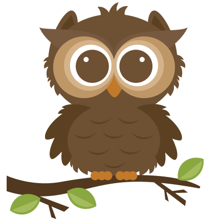 Forrest svg cut file. Animals clipart owl