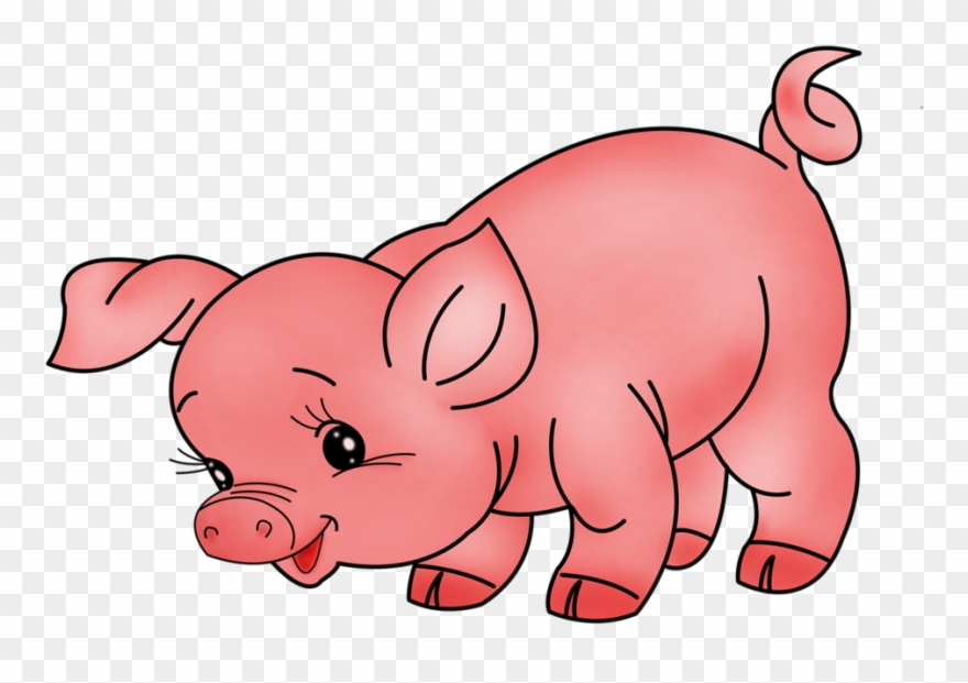 Clipart pig domestic animal. Farm animals png