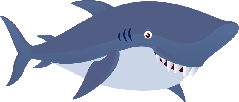 Animals clipart shark. Free to use public