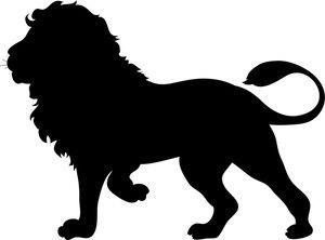 Animal clipart silhouette. Art at getdrawings com