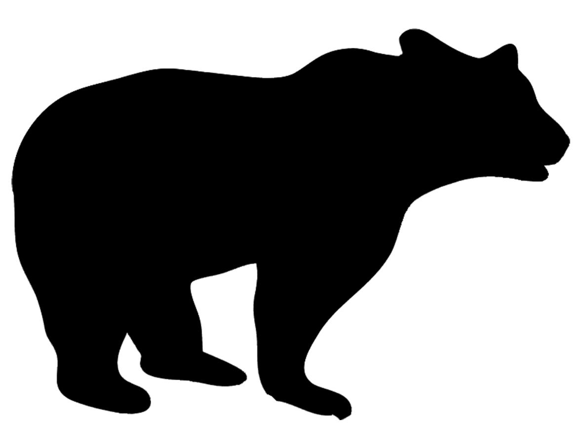 Animal clipart silhouette. Clip art of big