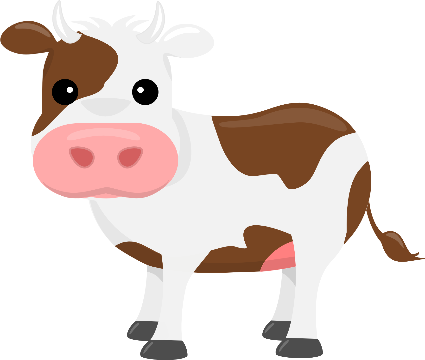 On the farm clip. Farmers clipart cattle farming