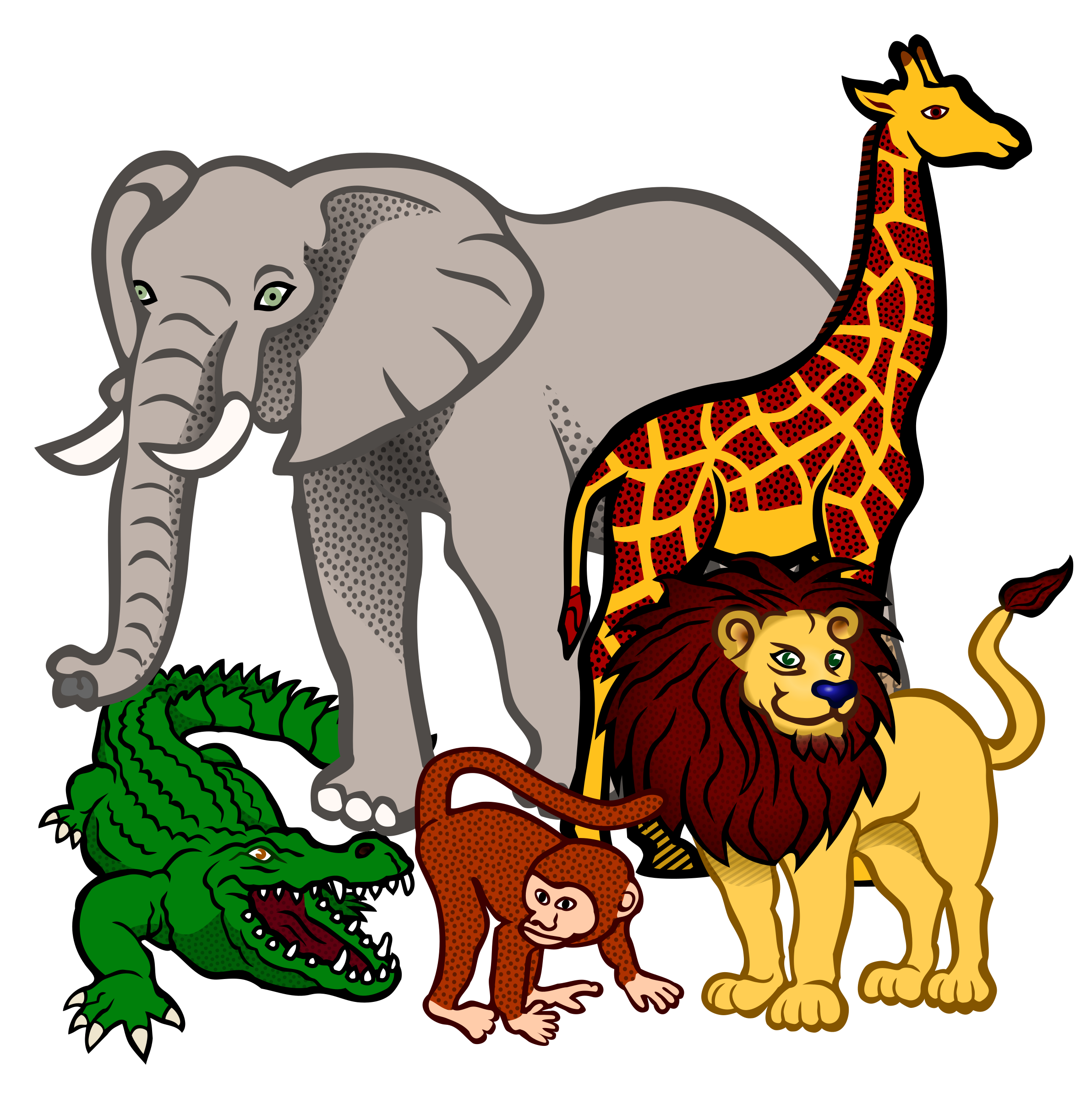 Animals clipart. Fotowall com rich hd