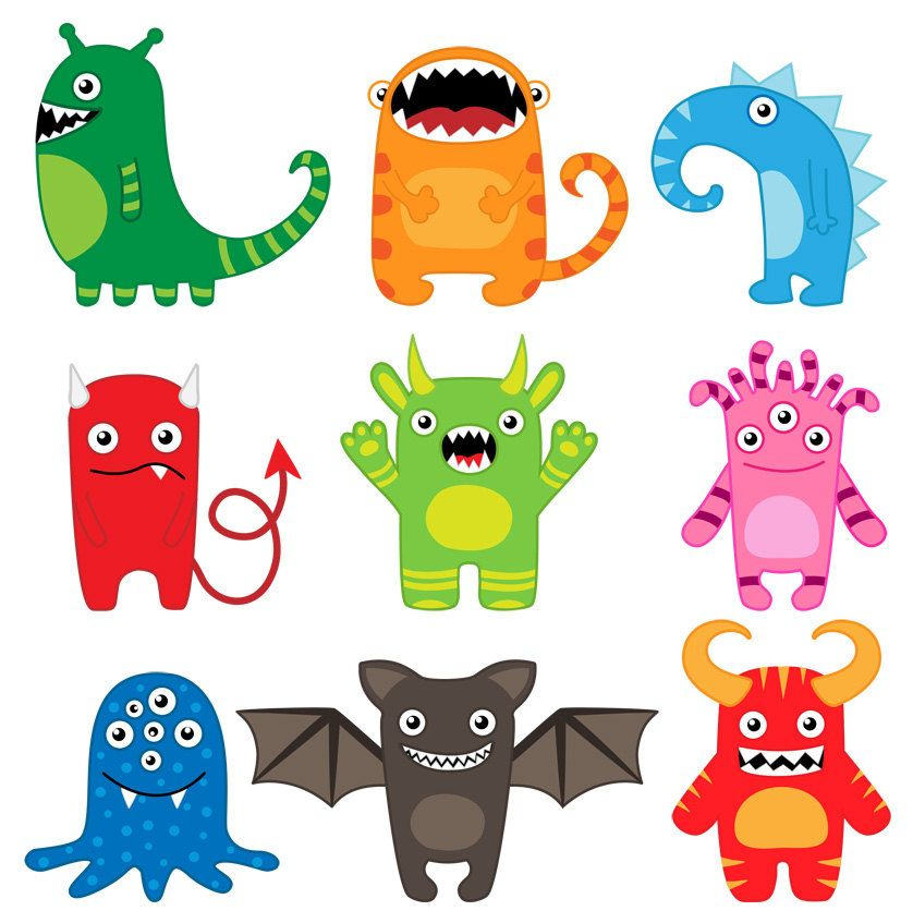 Monsters pinteres more. Animals clipart alien