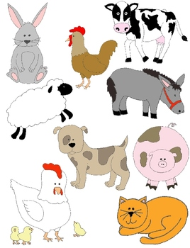 Animals clipart barnyard. Just farm clip art