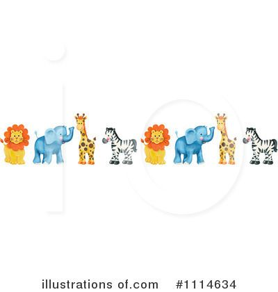 Animals clipart boarder. Zoo border more information