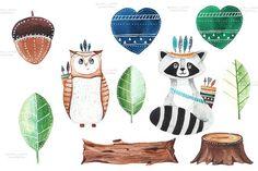 Patterns clipartpatterns illustrations. Animals clipart boho