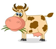 Pin by shoshanav on. Animals clipart cow