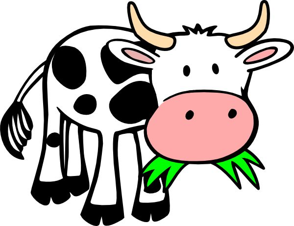 Animals clipart cow.  best moo images