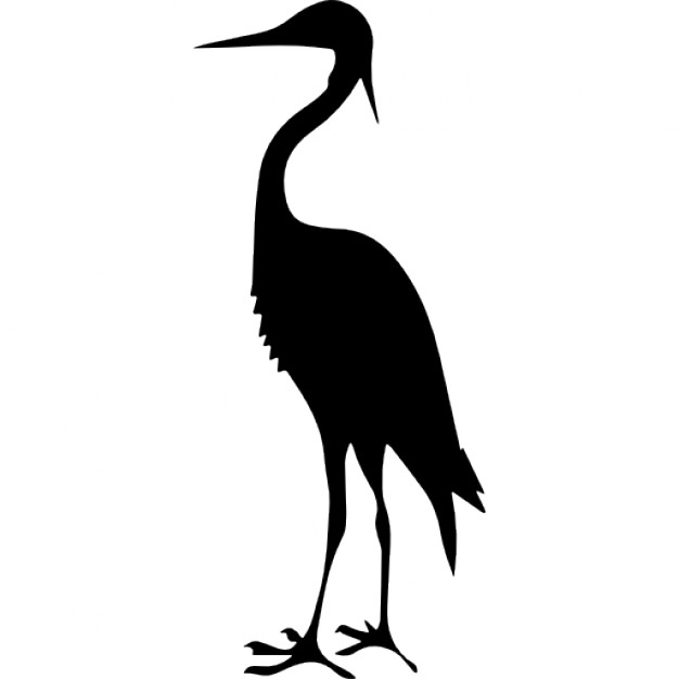 Bird drawing at getdrawings. Animals clipart crane