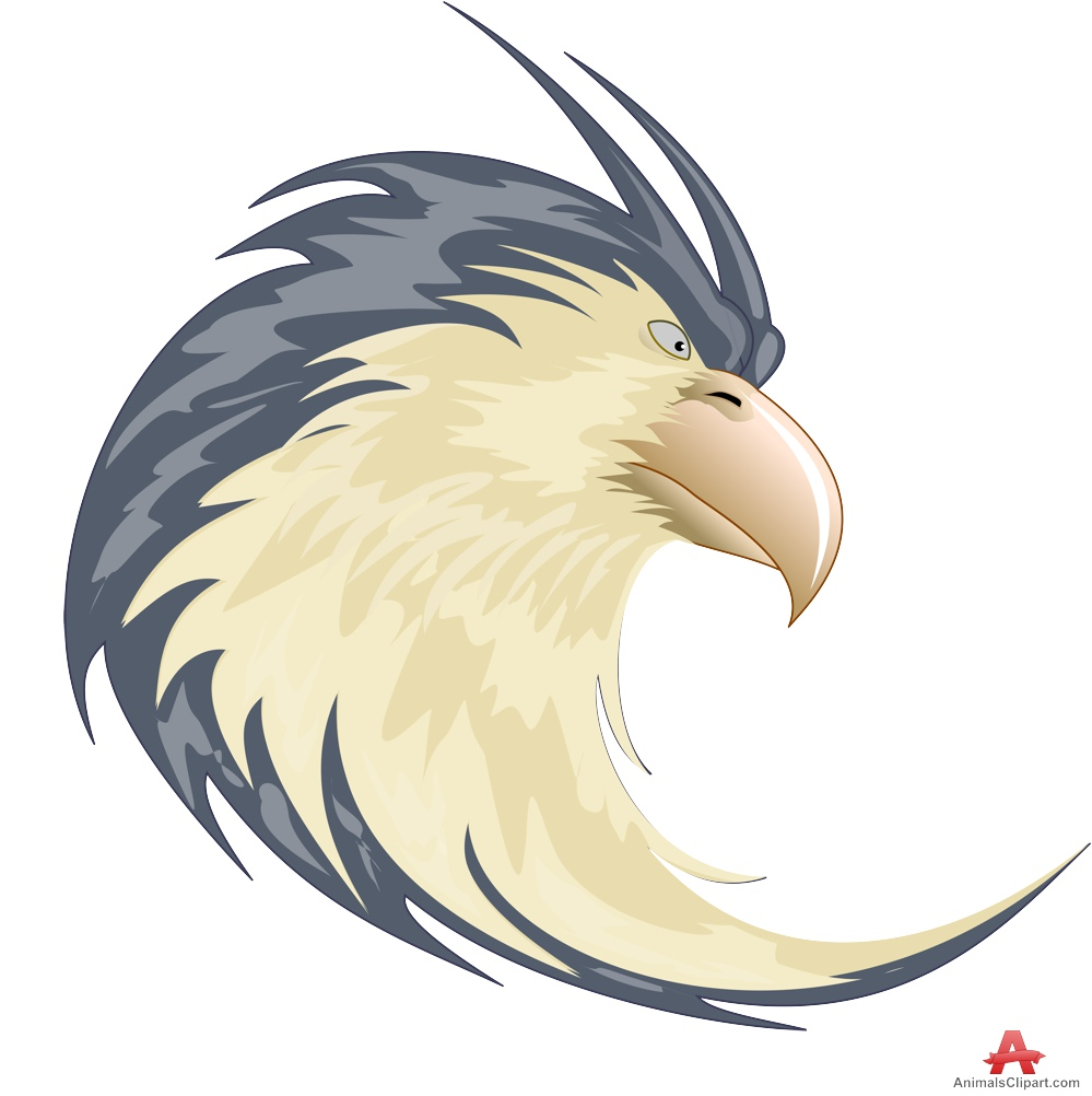 Animals clipart eagle. Powerful logo and symbol