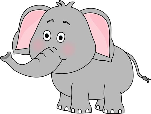 Stuffed animal pencil and. Animals clipart elephant