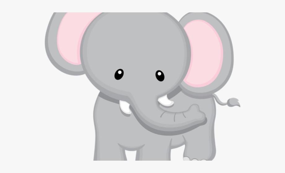 Big clipart big thing. Baby animal small elephant