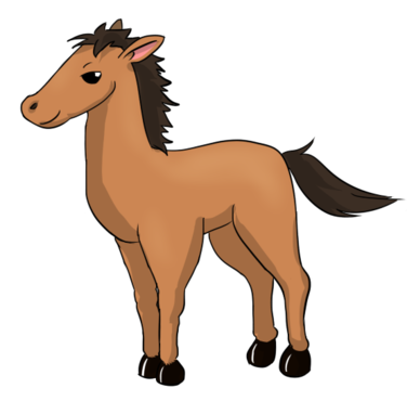 Animals clipart horse.